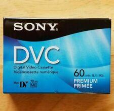 Sony Dvc Digital Video Cassette Tape Mini Dv 60min Camcorder - Dvm60Prr Handycam