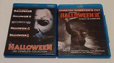 Halloween 1-5 & Halloween II Blurays