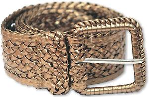 Ossi Women Ladies PVC Nylon Weave Style Fashion Belt Q5204