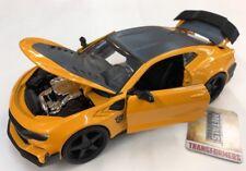 2016 Chevy Camaro Transformers 1:24 Diecast Car