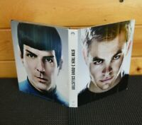 Star Trek Trilogy 3-Movie Collection Blu-Ray Into Darkness, Beyond 1,2,& 3
