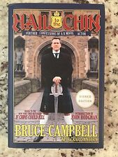Bruce Campbell Signed Hail to the Chin 1st printing hardcover book