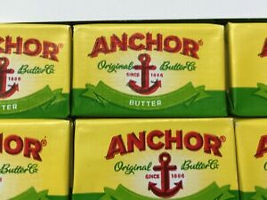Anchor Butter Portions - Individually Foil Wrapped - 1st Class Post
