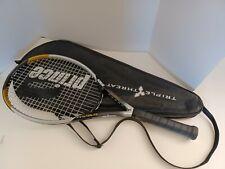 "New listing Prince TT UltraLite Oversize Ultra Lite Triple Threat Tennis Racquet 4-1/4"" Case"