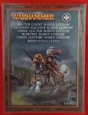 Warhammer - GW, Citadel - 86-22 Elector Count Marius Leitdorf (Mint, Sealed)