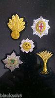 Grenadier Coldstream Scots Irish Welsh Guards Officers Cap Badges Full Set