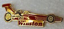 WINSTON DRAG Dragster RACING Car NHRA tack pin pinback button c3