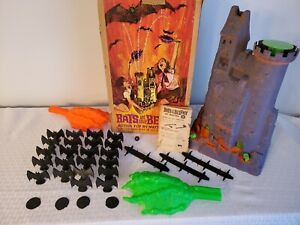 Vintage 1964 Mattel Bats in your Belfry Game w/Box That Works