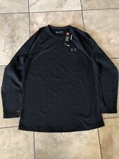 Men's Black Under Armour Coldgear Top- Size XXL- MSRP $80- NWT