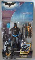 NEW Batman DARK Knight Riot STRIKE BATMAN 4+ Collect DC Mattel Figure Vintage