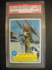 1963 ASTRONAUTS 3-D CARD #33 GRADED PSA 8 (ONLY 5 HIGHER)