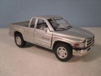 1998 Dodge Ram 1:45 O Scale Die-Cast Pickup Truck Kinsmart Pullback Motor