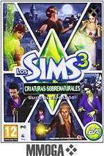 Los Sims 3 Criaturas Sobrenaturales Disco de Expansión - Supernatural - PC - ES