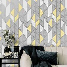 Superfresco Yellow Milan Geometric Wallpaper