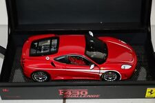HOT WHEELS SUPER ELITE FERRARI f430 Challenge, Red/Rosso 1:18, NUOVO + OVP