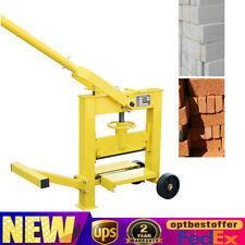 Manual Brick Cutting Machine Precise Cutter Block Splitter Landscape Paving Tool