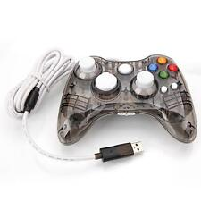 Black Afterglow Wired Controller Gamepad For Microsoft Xbox 360 PC Windows10