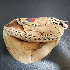 Mizuno Professional Steerhide L/H Baseball Catchers Mitt Glove MT1200 RT Throw