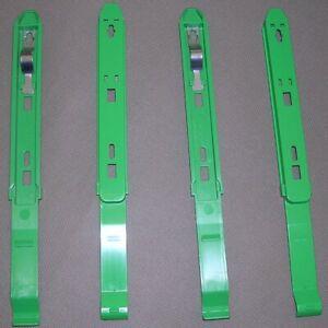 4 Dell DHM Internal CD ROM Drive Side Mounting Rails/Bracket 86DVJ 2-Pairs 99XHM