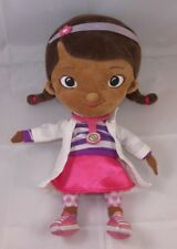 "Disney Store Exclsve Jr Peluche 13 "" Doc Mcstuffins Morbido Bambola Ragazza"