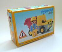 Vintage PLAYMOBIL 123 Series 6702 Road Worker Kipper Truck MIB OVP 1990 Geobra