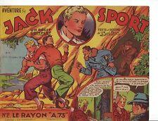 Artima une aventure ..n° 2 JACK SPORT Bob Dan