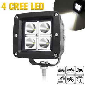 "3"" CREE LED Work Light Spot Lamp Car Truck OffRoad SUV ATV Fog Driving Light 12V"