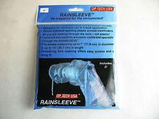 """RainSleeve OP/TECH USA  dslr 2 in pack 18"""" new"""