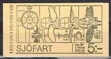 Zweden booklet postfris 1974 MNH PB 48 - Scheepvaart