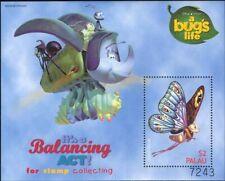 "Palau 1998 ""Bug's Life""/Disney/Films/Cinema/Animation/Insects 1v m/s (ad1042)"