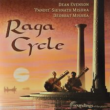 Dean Evenson, Pt Shivnath &  Deobrat Mishra - Raga Cycle (CD 2004) Nr MINT 10/10