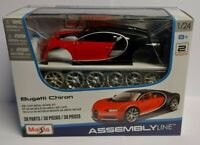 MAISTO 1:24 Scale Assembly Line Build Your Own Diecast Model Car Kits