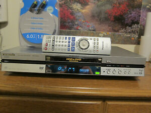 Panasonic DMR-E80HP DVD Player/Recorder with 80GB HDD and remote