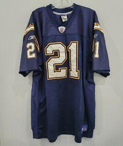 Reebok Authentic NFL San Diego Chargers LaDanian Tomlinson #21 Jersey Men 56 3XL