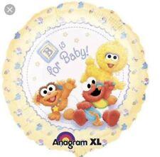 "18"" Sesame Street Baby Shower Mylar Balloon"