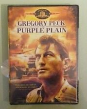 gregory peck  THE PURPLE PLAIN    DVD NEW  genuine region 1