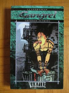 Clansroman GANGREL (Deutsch) -Vampire Die Maskerade Roman Band 3 – Feder und Sch