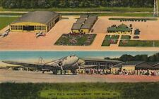 Postcard Airplanes Smith Field Municipal Airport Fort Wayne In