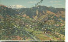 MANITOU SPRINGS,COLORADO-MANITOU INCLINE-PIKES PEAK-LINEN-#2102-(AV3242)