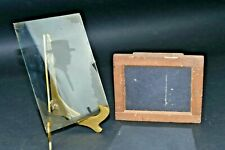 19th Century Bundle 1 Wooden & Film/Plate Holders Homemade / Glass Negative Man