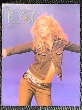 Madonna Icon Magazine 28. FANZINE. USA FANCLUB. MINT. 1999. Ray Of Light Era