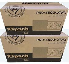 Brand New Klipsch PRO-6502-L-THX In-Wall Speakers ( 1 Pair)