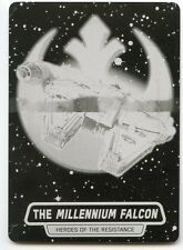 Topps Star Wars Journey to Force Awakens Printing Plate R8 Millennium Falcon