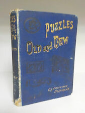 Professor Hoffmann - Puzzles Old And New - 1st Edition - Warne - 1893 (ID:649)