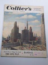 Collier's Magazine- The Love Man- Baseball Hercules- May 26, 1951