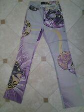 Just Cavalli womens jeans, size 27, print