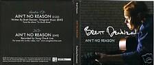 BRETT DENNEN Ain't No Reason CD Single & DVD w/ LIVE