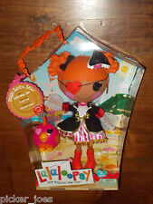 NEW 2013 Full-Size LALALOOPSY #44 PEGGY SEVEN SEAS Pirate Sailor Doll w/ Pet