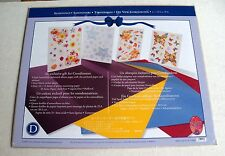 Creative Memories Seasonings Four 10x12 Paper/Four Block Sticker Sheets NIP/NLA