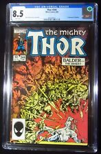 Thor #344 CGC 8.5...1st Malekith (Dark Elves ruler) Thor movie appearance